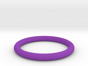 Violet ring in Purple Processed Versatile Plastic