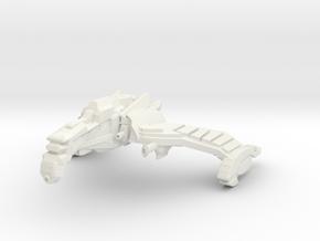 Firebird Class B Destroyer -small-wings Down- in White Natural Versatile Plastic