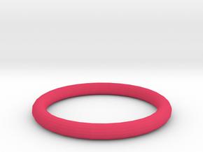 Pink ring in Pink Processed Versatile Plastic