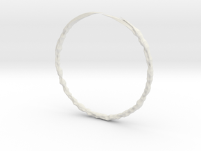 Lin Bracelet in White Strong & Flexible
