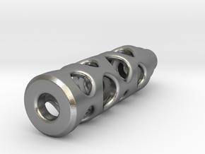 Tritium Lantern 1B (Silver/Brass/Plastic) in Natural Silver