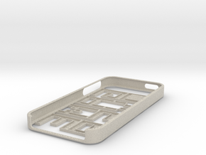 GAMEOVER iPhone 5 Case in Natural Sandstone