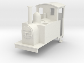 1:32/1:35 side tank Loco 2 in White Natural Versatile Plastic