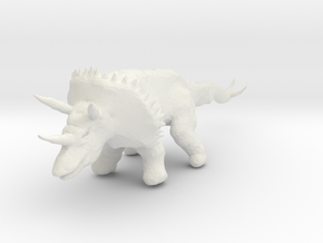 triceratops_04 in White Strong & Flexible