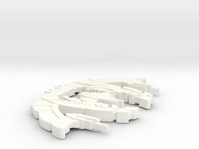 Breen Ship Beta Variant in White Processed Versatile Plastic
