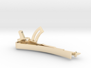 AK-47 MONEY/TIE CLIP in 14K Yellow Gold