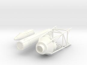 Apollo LES 1:38.5 in White Processed Versatile Plastic