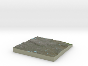 Terrafab generated model Sun Oct 20 2013 22:15:12  in Full Color Sandstone