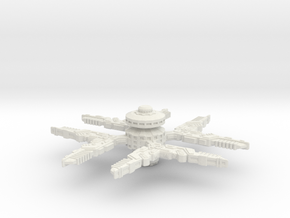 Cardassian Station Modified (Larger) in White Strong & Flexible