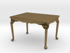 1:48 Queen Anne Dining Table in Natural Bronze