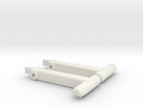 Replacement Connor/Osiris Locks in White Natural Versatile Plastic