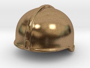 Fire Helmet Rosenbauer (Test) in Natural Brass