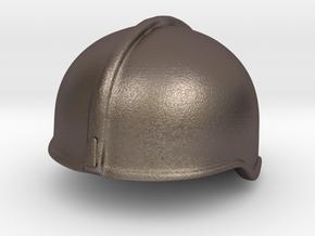 Fire Helmet Rosenbauer (Test) in Polished Bronzed Silver Steel