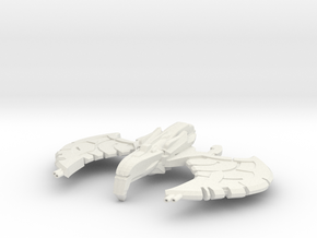 Kendor Class HvyDestroyer in White Natural Versatile Plastic