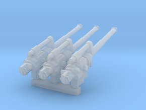 M1391 Long Guns in Smooth Fine Detail Plastic