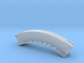 Looping Gelb Loop4  in Smooth Fine Detail Plastic