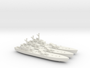 LCG(M)1/700 Scale 3 Off in White Natural Versatile Plastic