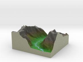 Terrafab generated model Wed Nov 06 2013 02:55:13  in Full Color Sandstone
