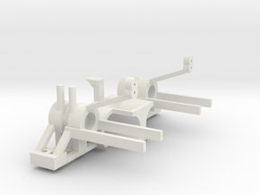 M471 motor bracket in White Strong & Flexible