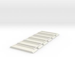 P1 Pontoon 1/700 Scale 6 Off in White Natural Versatile Plastic