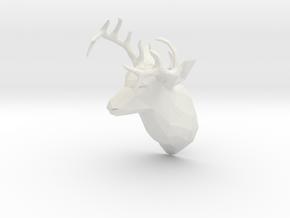 DEER REF in White Natural Versatile Plastic