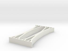 Topopt Distributed 2d Compression in White Natural Versatile Plastic