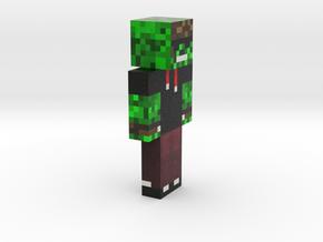 6cm | PixelFrogger in Full Color Sandstone