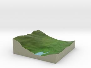 Terrafab generated model Mon Nov 11 2013 00:29:24  in Full Color Sandstone