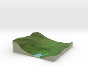 Terrafab generated model Mon Nov 11 2013 00:04:28  in Full Color Sandstone