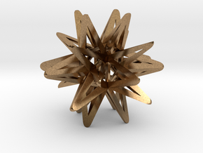 God Star in Natural Brass
