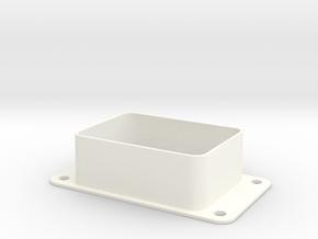 Bally SS Pinball - 1 Globe Light Shroud (Upgraded) in White Processed Versatile Plastic