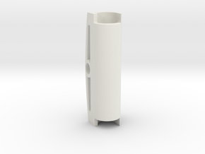 Center Bar in White Natural Versatile Plastic