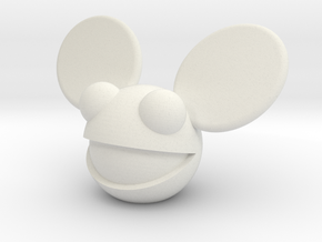 DeadMau5 in White Natural Versatile Plastic