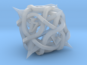 Thorn Die8 Ornament in Smooth Fine Detail Plastic
