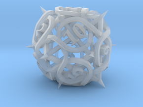Thorn d12 Ornament in Smooth Fine Detail Plastic