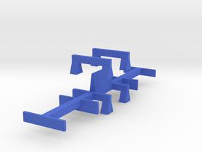 WarwellSixBolsterFittingGauges in Blue Strong & Flexible Polished