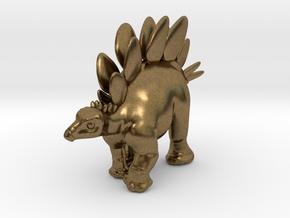 Stegosaurus Chubbie Krentz in Natural Bronze