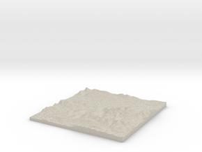 Model of Glen Nevis in Sandstone