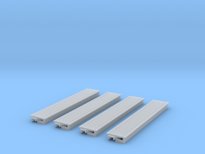 4 X Double Sided Platforms in Smooth Fine Detail Plastic