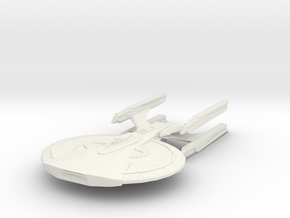 Shadan Class Cruiser in White Natural Versatile Plastic