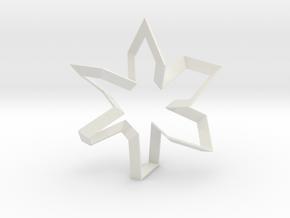 The Dancer in White Natural Versatile Plastic