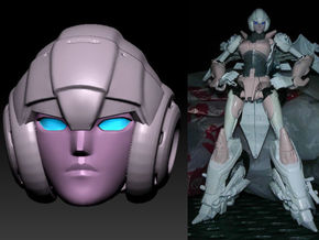ARCEE homage Oracle Ver  2 for TF PRID  in Smooth Fine Detail Plastic