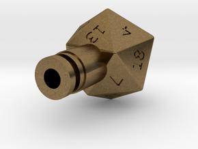 D20 Drip Tip in Natural Bronze
