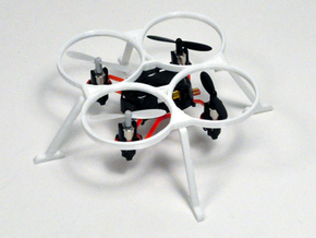 Antares Propeller Guards and Landing Gear ProtoX in White Strong & Flexible