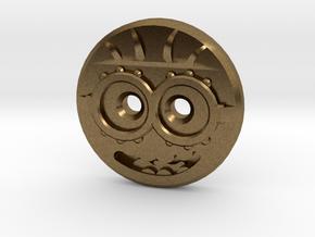 Minion Shirt Button in Natural Bronze