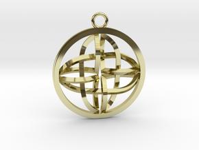 Celtic Cross Pendant in 18k Gold