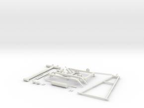 Pantograph Tenth Scale in White Natural Versatile Plastic