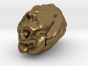 Sculptris Brain in Natural Bronze