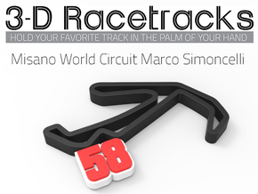 Misano World Circuit Marco Simoncelli  in Full Color Sandstone
