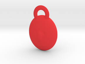 Beaming Mr Sun version 3 in Red Processed Versatile Plastic